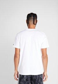 adidas Performance - Camiseta estampada - white - 2