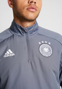 adidas Performance - DEUTSCHLAND DFB WARM-UP TOP - Equipación de selecciones - onix - 3