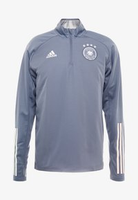 adidas Performance - DEUTSCHLAND DFB WARM-UP TOP - Equipación de selecciones - onix - 4
