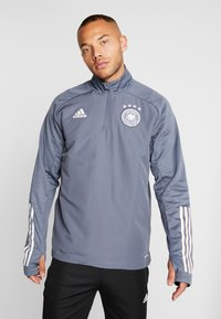 adidas Performance - DEUTSCHLAND DFB WARM-UP TOP - Equipación de selecciones - onix - 0