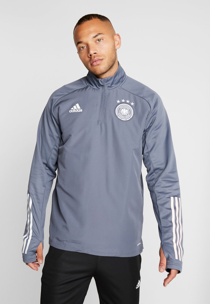 adidas Performance - DEUTSCHLAND DFB WARM-UP TOP - Equipación de selecciones - onix