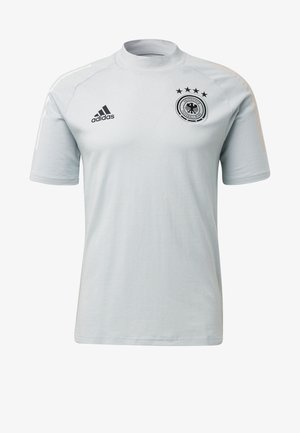 DEUTSCHLAND DFB TEE - Print T-shirt - light grey