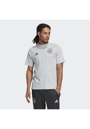 DEUTSCHLAND DFB TEE - T-shirt print - light grey