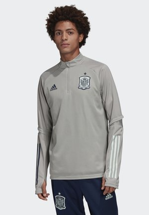 SPAIN FEF TRAINING SHIRT - National team wear - multi solid grey