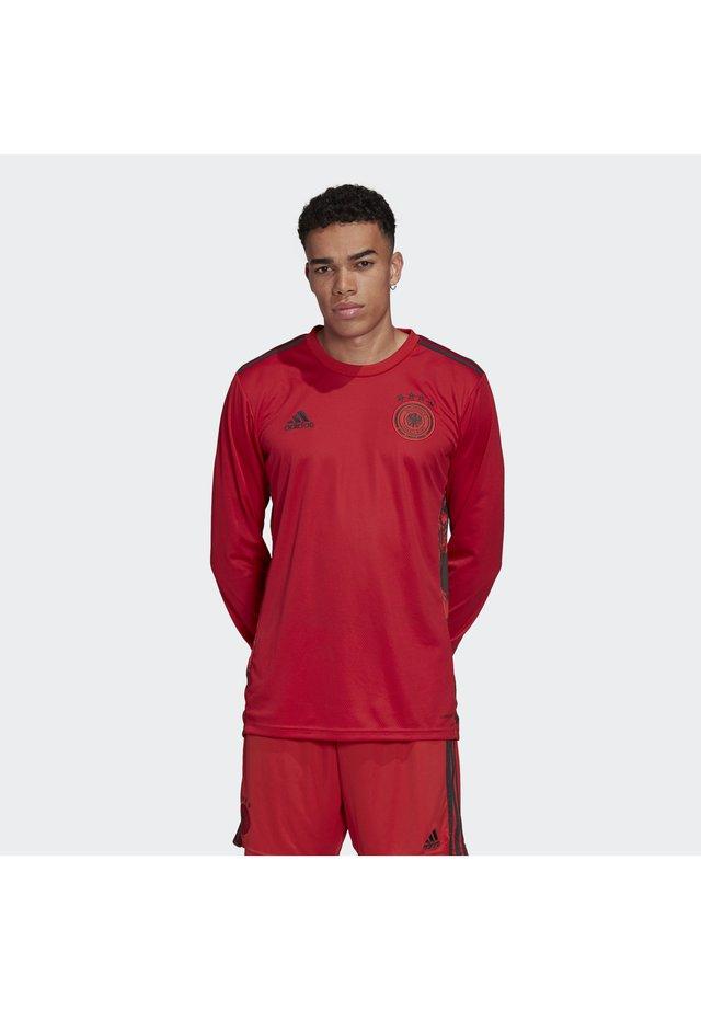 DEUTSCHLAND DFB TORWART HEIMTRIKOT - Squadra nazionale - glory red
