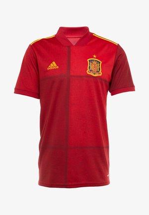 SPAIN FEF HOME JERSEY - Landsholdstrøjer - red