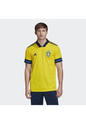SWEDEN SVFF HOME JERSEY - Nationalmannschaft - yellow/indigo