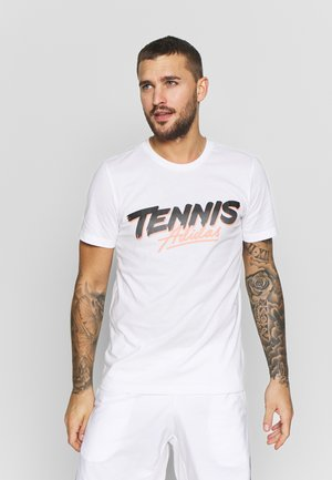 SCRIPT GRAPH  - T-shirts med print - white