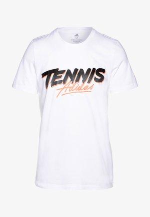 SCRIPT GRAPH  - T-shirt med print - white