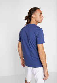 adidas Performance - SCRIPT GRAPH  - T-Shirt print - tech indigo - 2