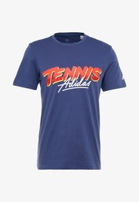 adidas Performance - SCRIPT GRAPH  - T-Shirt print - tech indigo - 3