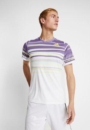 TEE - T-shirt de sport - white/shoyel