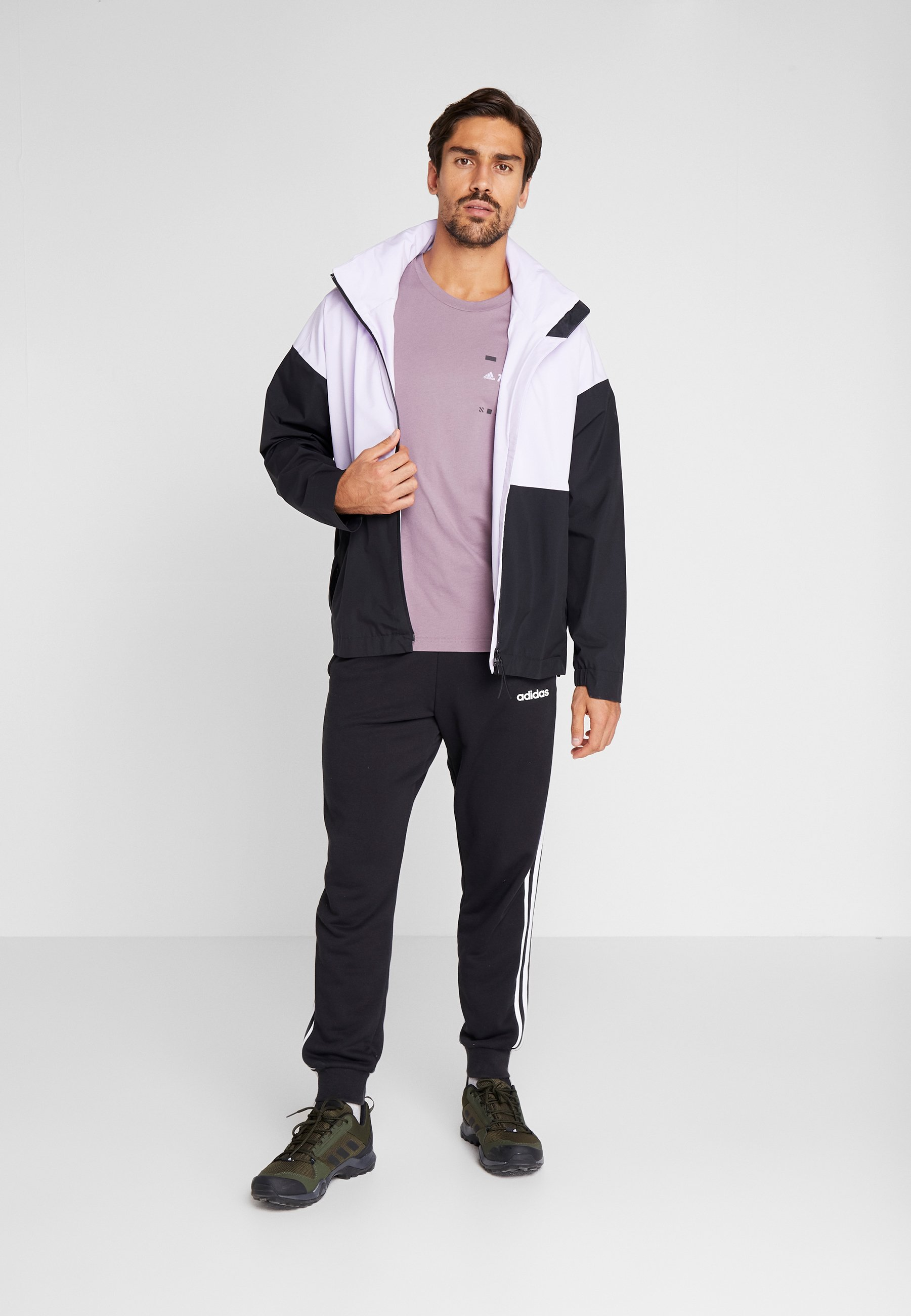 adidas Performance TERREX GRAPHIC - T-shirt imprimé - purple