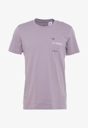 TERREX GRAPHIC  - Print T-shirt - purple