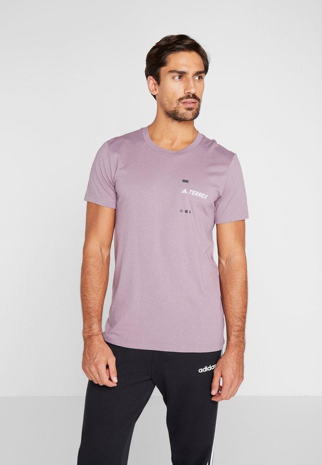 TERREX GRAPHIC  - Printtipaita - purple