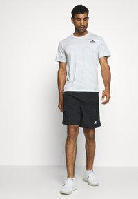 adidas Performance - CAMO TEE - Print T-shirt - white - 1