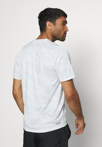 adidas Performance - CAMO TEE - Print T-shirt - white - 2