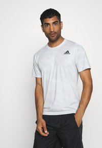 adidas Performance - CAMO TEE - T-shirts med print - white - 0