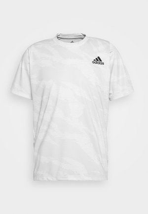 CAMO TEE - Funktionsshirt - white
