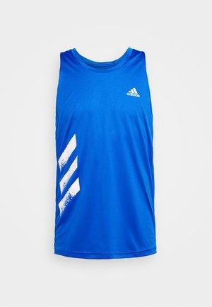 SINGLET - Sports shirt - glow blue