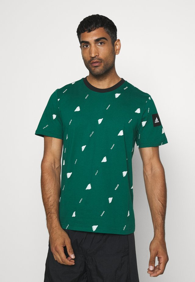 TEE  - T-shirt con stampa - green