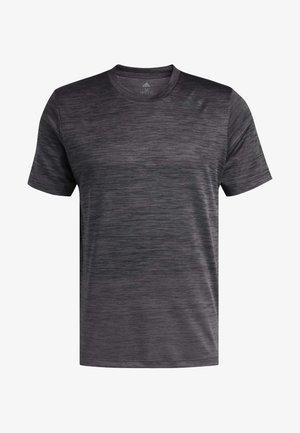 AEROREADY TRAINING SPORTS SHORT SLEEVE TEE - Print T-shirt - gresix/black