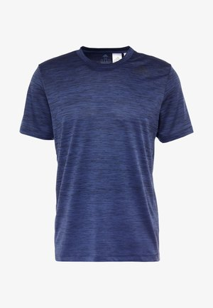 GRADIENT TEE - Print T-shirt - dark blue