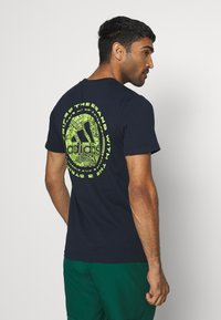 adidas Performance - EMBLEM - Print T-shirt - legend ink - 2