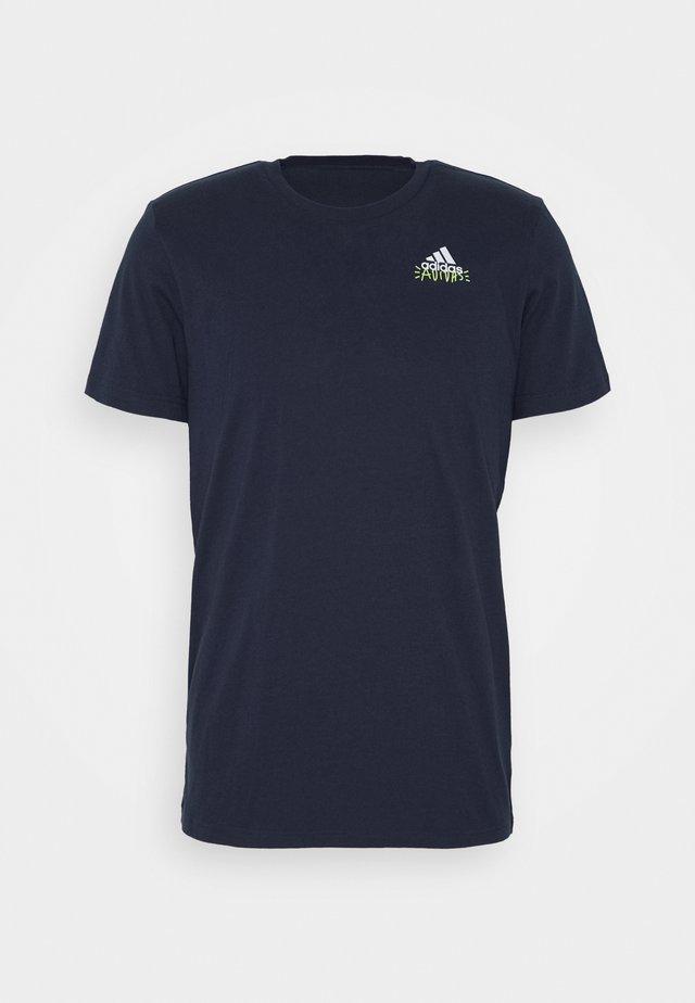 EMBLEM - Print T-shirt - dark blue