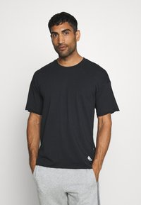adidas Performance - TEE - T-shirt con stampa - black - 2