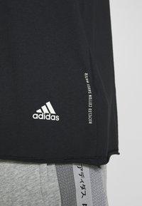 adidas Performance - TEE - T-shirt con stampa - black - 5