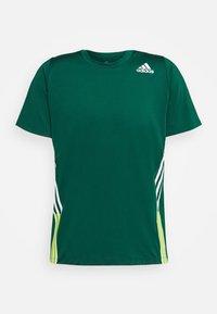 adidas Performance - TEE - T-shirt print - green - 5