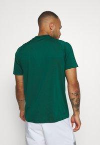 adidas Performance - TEE - T-shirt print - green - 2
