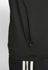 adidas Performance - HYPER TEE - Triko spotiskem - black - 3