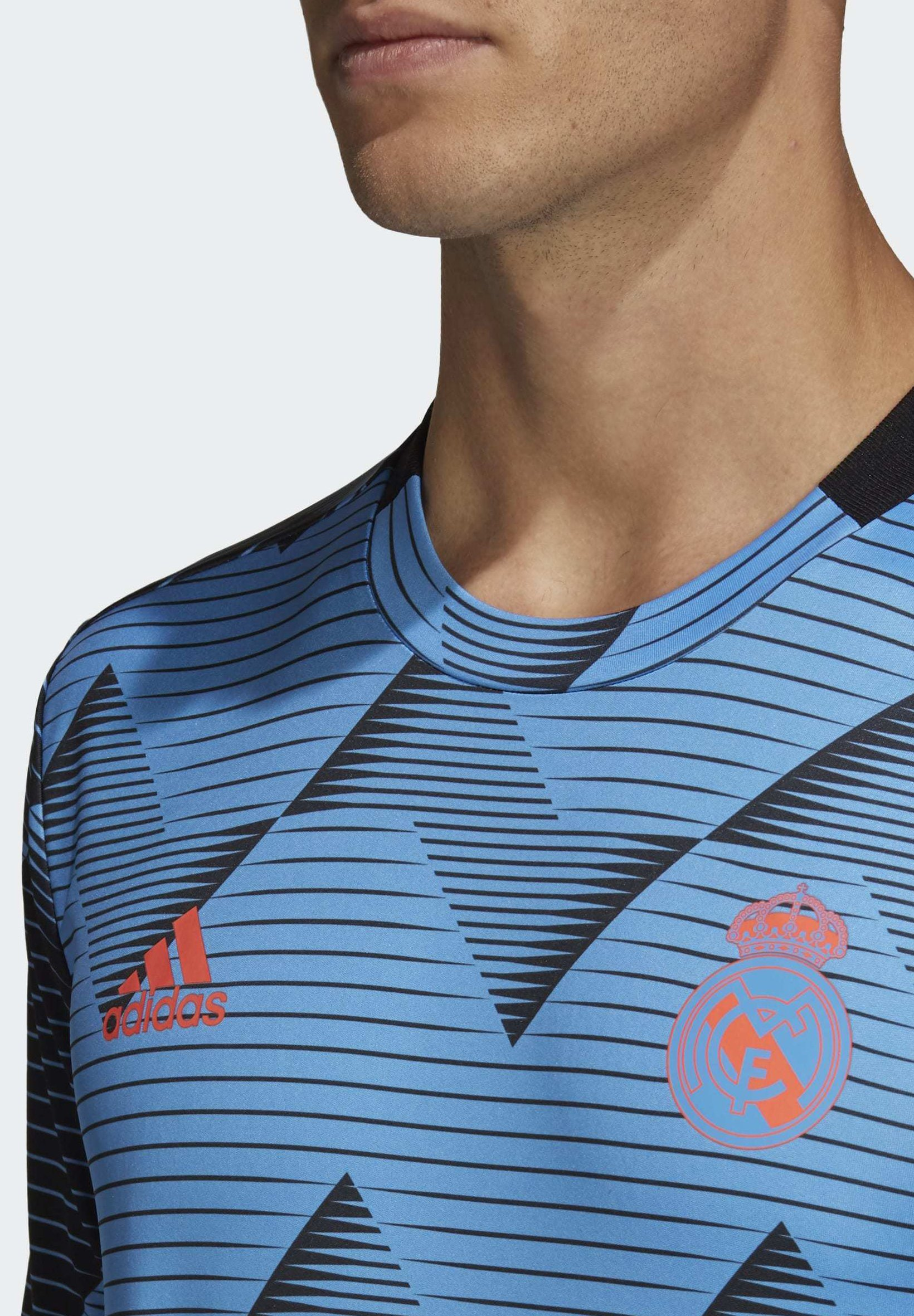 adidas Performance REAL MADRID PRE-MATCH JERSEY - Article de supporter - blue