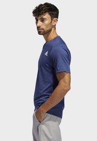 adidas Performance - FREELIFT SPORT PRIME LITE T-SHIRT - T-shirts med print - tech indigo - 2