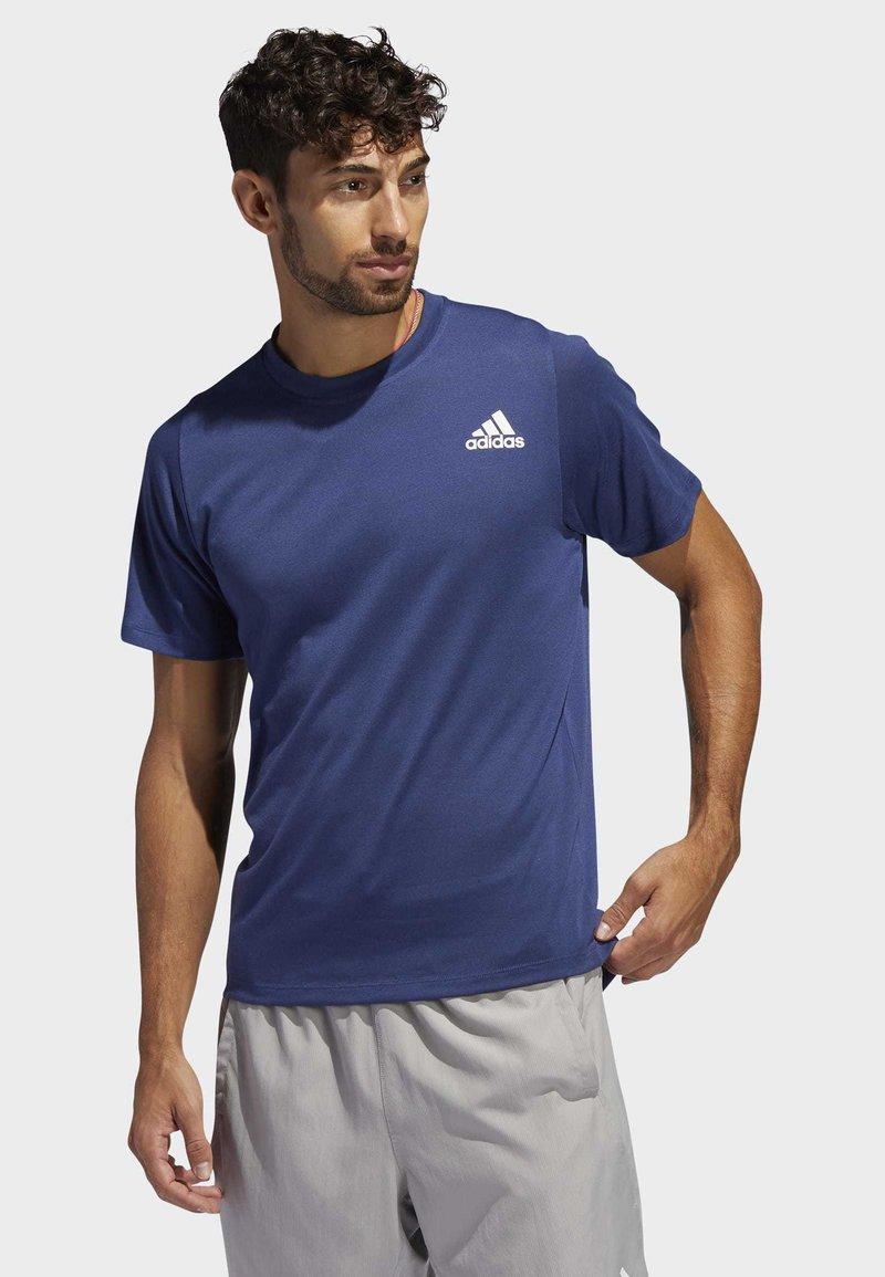 adidas Performance - FREELIFT SPORT PRIME LITE T-SHIRT - T-shirts med print - tech indigo
