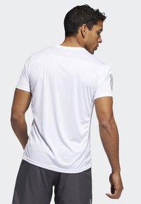 adidas Performance - OWN THE RUN T-SHIRT - Print T-shirt - white - 1