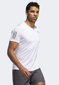 adidas Performance - OWN THE RUN T-SHIRT - Print T-shirt - white - 3