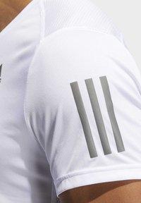 adidas Performance - OWN THE RUN T-SHIRT - Print T-shirt - white - 4