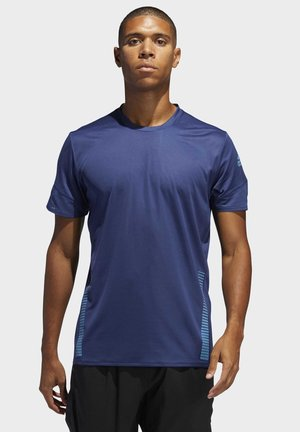 RISE UP N RUN PARLEY T-SHIRT - T-shirt imprimé - tech indigo