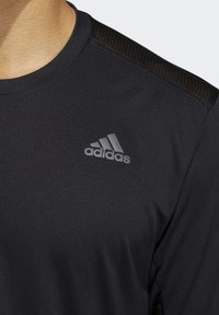 adidas Performance - OWN THE RUN LONG-SLEEVE TOP - Funktionstrøjer - black - 4