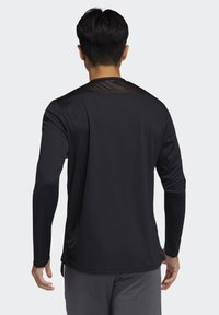 adidas Performance - OWN THE RUN LONG-SLEEVE TOP - Funktionstrøjer - black - 1