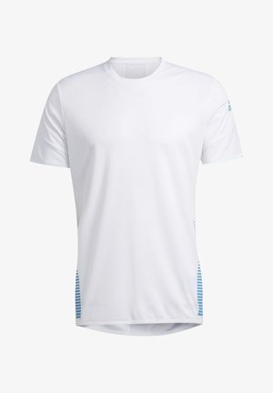 RISE UP N RUN PARLEY T-SHIRT - Print T-shirt - white