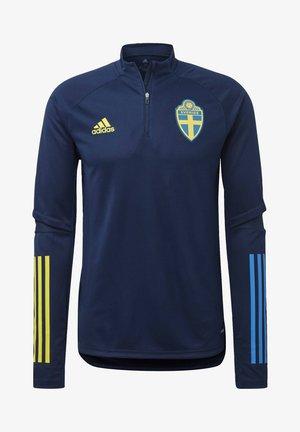 SWEDEN SVFF TRAINING SHIRT - Oblečení národního týmu - blue