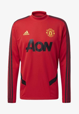 MANCHESTER UNITED TRAINING TOP - Fanartikel - red