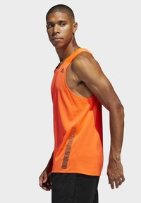 adidas Performance - RISE UP N RUN SINGLET - Linne - orange - 3