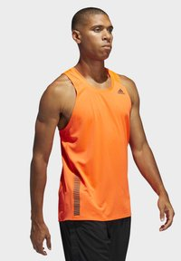 adidas Performance - RISE UP N RUN SINGLET - Linne - orange - 2