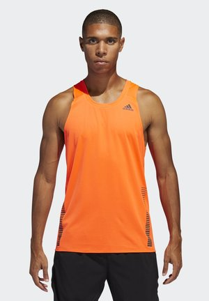 RISE UP N RUN SINGLET - Top - orange