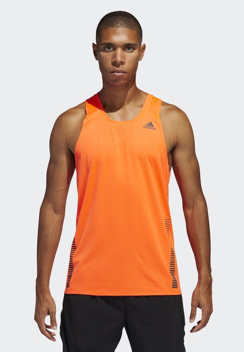 adidas Performance - RISE UP N RUN SINGLET - Topper - orange